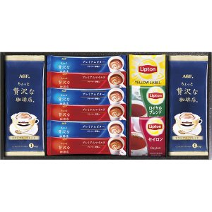 AGF&リプトン 珈琲・紅茶セット BD-20S  内祝い ギフト 出産 結婚 快気 法事|breezebox