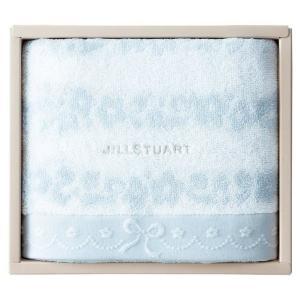 包装・のし無料*ジルスチュアート ブルームリボン バスタオル ブルー 58-3129300(お返し 内祝い 結婚 出産 新築 快気 法事 ご挨拶)|breezebox