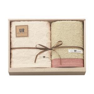 包装・のし無料*アーバンリサーチ タオルセット レッド UR2115(お返し 内祝い 結婚 出産 新築 快気 法事 ご挨拶) breezebox