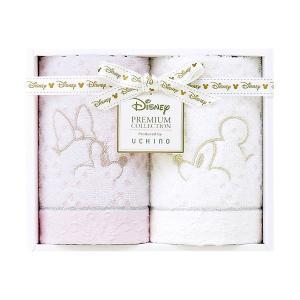 包装・のし無料*ディズニープレミアム ホワイトハピネス ゲストタオル2P ミックス WG15694(お返し 内祝い 結婚 出産 新築 快気 法事 ご挨拶)|breezebox