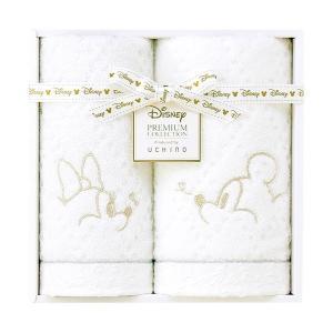 包装・のし無料*ディズニープレミアム ホワイトハピネス タオルセット ホワイト WR20694(お返し 内祝い 結婚 出産 新築 快気 法事 ご挨拶)|breezebox