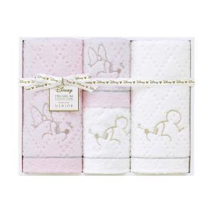 包装・のし無料*ディズニープレミアム ホワイトハピネス タオルセット ミックス WR40694(お返し 内祝い 結婚 出産 新築 快気 法事 ご挨拶)|breezebox
