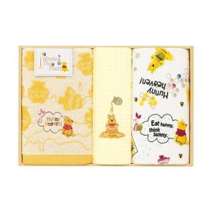 包装・のし無料*ディズニー くまのプーさん タオルセット  WR25706(お返し 内祝い 結婚 出産 新築 快気 法事 ご挨拶)|breezebox