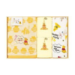 包装・のし無料*ディズニー くまのプーさん タオルセット  WR50706(お返し 内祝い 結婚 出産 新築 快気 法事 ご挨拶)|breezebox
