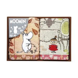 包装・のし無料*ムーミン ムーミン谷の日々 タオルセット  MM-9116(お返し 内祝い 結婚 出産 新築 快気 法事 ご挨拶) breezebox
