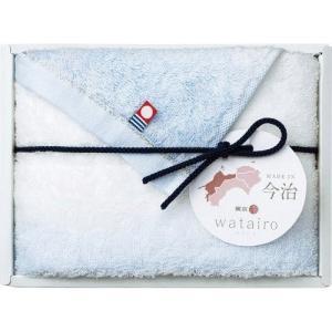 包装・のし無料*今治わたいろ フェイスタオル ブルー TT88100030  (お返し 内祝い 結婚 出産 新築 快気 法事 ご挨拶) breezebox