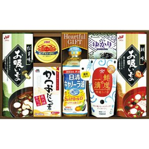 【50%OFF 包装・のし無料】日清キャノーラ油&鮮度の一滴しょうゆ詰合せ IS-35