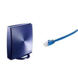 I-O DATA WiFi 無線LAN ルーター 11ac 867+300Mbps IPv6 3階建...