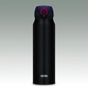サーモス 水筒 真空断熱ケータイマグ ワンタッチオープンタイプ 750ml マットブラック JNL-...