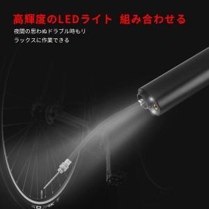 Ephram 電動エアコンプレッサー 空気入れ 空気抜き ミニ電動ポンプ 5000mAh大容量電池 LEDライト搭載 USB充電 連続3時間