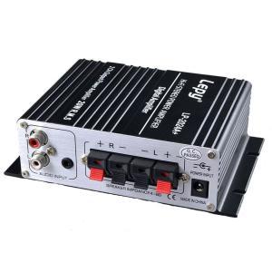 Lepy デジタルアンプ LP-2024A + Tripath TA2024 + 12V 5Aアダプ...