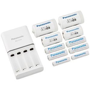 パナソニック エネループ ファミリーセット 単3形充電池 4本・単4形充電池 2本 ・単1形・単2形...
