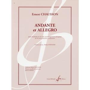 Chausson,E.:Andante et Allegro  平日14時までのご注文には出来る限り...