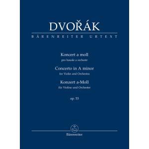 輸入楽譜/スコア/ドヴォルザーク:ヴァイオリン協奏曲 イ短調 Op.53