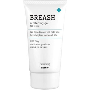 ブレッシュホワイトニング BREASH 30g 歯磨き粉|BRハウス PayPayモール店