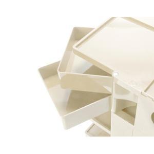 ボビーワゴン 2段2トレイ ベージュ ジョエ コロンボ イタリア MoMAパーマネントコレクション 日本限定色多機能ワゴン収納家具インテリアベッドサイドテーブル bricbloc 02