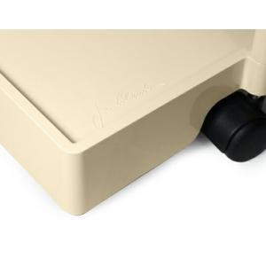 ボビーワゴン 2段2トレイ ベージュ ジョエ コロンボ イタリア MoMAパーマネントコレクション 日本限定色多機能ワゴン収納家具インテリアベッドサイドテーブル bricbloc 03