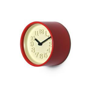 小さな時計 送料無料 渡辺 力 レムノス掛時計ウォールクロックインテリア置時計白い文字盤ギフト プレゼントシンプルデザイン bricbloc