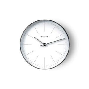 MaxBill モデル367 6046 送料無料 ユンハンス マックス・ビルインテリアウォールクロック壁掛時計MoMAパーマネントコレクションバウハウス bricbloc