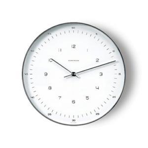 Max Bill モデル367 6048 ユンハンス マックス ビル ドイツインテリアウォールクロック壁掛時計リビングギフト プレゼントMoMAパーマネントコレクション選定品 bricbloc