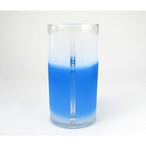 WATER IS BLUE?ウォーター イズ ブルー ? 水って青色ですか?不思議なグラス FLASKギフト プレゼントブライダルギフトキッチン用品インテリア|bricbloc
