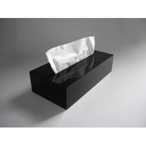 IDIOM / TISSUE ブラック ティッシュボックス ティッシュケース 受注生産 AIR FRAMEアクリルプロダクトインテリアリビングダイニング寝室ギフト プレゼント bricbloc