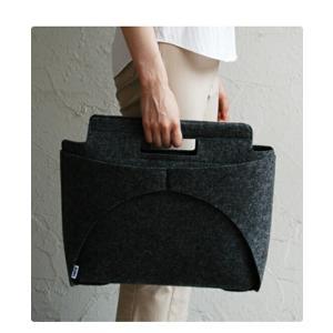 MOCO BAG /modern black 手提げバッグ トートバッグ 印デザインユニセックスファッションパンチカーペットインテリア雑貨ギフト プレゼント|bricbloc