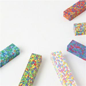 AOZORADot Flowers Crayon [ドットフラワーズクレヨン]ステーショナリーモザイク状の美しいクレヨンギフト プレゼント文房具|bricbloc|02