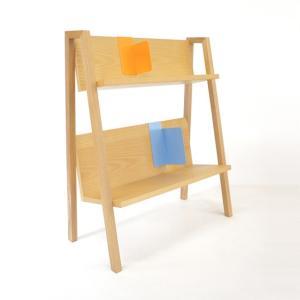BOOK RACK ブックラック 送料無料 インテリア家具 受注生産商品 フルスイングデザイナーズ家具インテリアCD.単行本.雑誌などサイズに合わせて上下に収納|bricbloc
