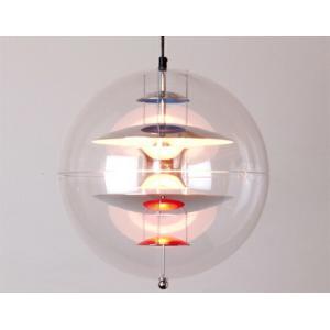 グローブSサイズ ヴェルナー パントン ヴァーパン デンマーク デザイナーズ照明 受注生産アクリル球体ボールチェーン惑星を連想させる佇まいリビング ダイニング|bricbloc