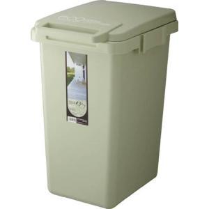 コンテナスタイル45J ダストボックス エコグリーン3色のゴミ箱 ライトグリーンキッチン周りダイニングリビングジョイント連結仕様|bricbloc