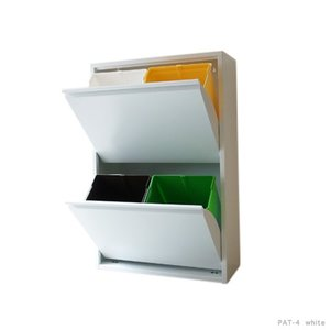 recycle bin リサイクルビン 分別に便利なゴミ箱 送料無料 イタリアダストボックス自宅/オフィス日用品のストックインテリアキッチン|bricbloc