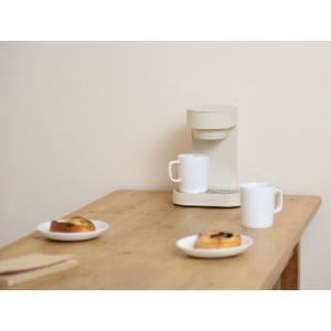 ±0 Coffee Maker 2-Cup コーヒーメーカー 2カップ デザイン家電 オリジナルマグカップ2個付属キッチン用品インテリアギフト プレゼント|bricbloc
