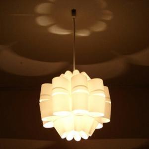 どん DON P.P.Lamp Shade 照明作家 谷俊幸 天井照明 送料無料 デザイナーズ照明ミッドセンチュリーテイストポリプロピレンインテリアペンダントライト|bricbloc