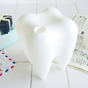 PROPAGANDA SWEET CONTAINER ホワイト 歯の形をした小物入れ コンテナーインテリア雑貨ギフト プレゼント|bricbloc