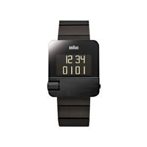 BRAUN ブラウン デジタルウォッチ BN0106 ブラック 腕時計 受注生産ギフト プレゼントカレンダー アラーム デュアルタイム機能リストウォッチ|bricbloc