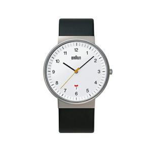 BRAUNブラウン メンズウォッチ BNH0032 レザー ホワイト 腕時計 ギフト プレゼント男女兼用フォーマル カジュアルリストウォッチシリーズ|bricbloc