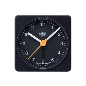 BRAUNブラウン アラームクロックBNC002 ブラック ホワイト置時計コンパクトサイズシンプルアラームクロックインテリアギフト プレゼントリビング 寝室|bricbloc