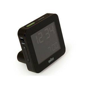BRAUN ブラウン アラームクロックBNC009 ブラック ホワイト 電波時計デジタルクロックインテリアギフト プレゼント|bricbloc