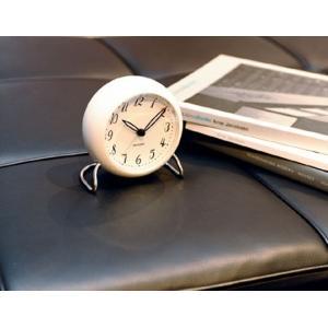 ROSENDAHL ローゼンダール Arne Jacobsen アルネ ヤコブセン テーブルクロック LK リビング 寝室インテリアアラームクロック卓上時計LEDライト スヌーズギフト|bricbloc