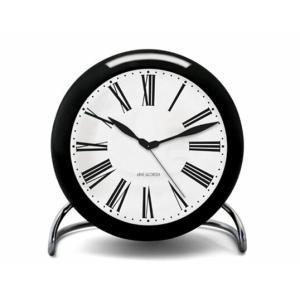 ROSENDAHL Arne Jacobsen アルネ ヤコブセン テーブルクロック ローマンローゼンダール アラームクロック卓上時計インテリアギフトLEDライト スヌーズリビング|bricbloc