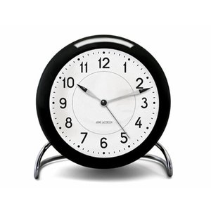 ROSENDAHL Arne Jacobsen アルネ ヤコブセン テーブルクロック ステーションローゼンダール リビング 寝室ギフトインテリア卓上時計アクリル LEDライト|bricbloc
