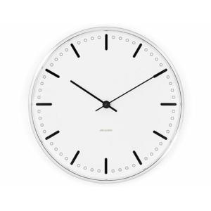 ROSENDAHL Arne Jacobsen アルネ ヤコブセン Cityhall Clock 210mmウォールクロック シティーホール 210mmローゼンダール壁掛時計一人暮らしに適したサイズ|bricbloc