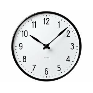 ROSENDAHL Arne Jacobsen Station Clock 210mmアルネ ヤコブセンウォールクロック ステーション 210mmローゼンダール 壁掛時計インテリア一人暮らしギフト|bricbloc