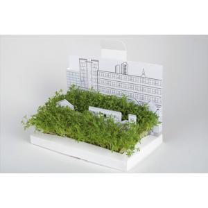 Postcarden ポストカーデンCity都市箱庭づくりポストカードギフトプレゼントグリーティングカードインテリア定形外郵便物立体ガーデン|bricbloc