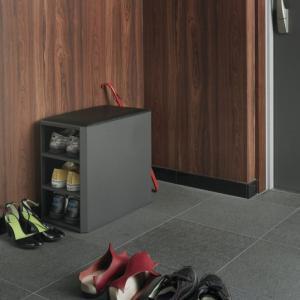 DUENDE/デュエンデ IMELDA /Shoes Rack WHITE / GREYシューズラックホワイト グレーデザイナーズ家具玄関収納インテリア送料無料スツールシューズ ブーツ|bricbloc