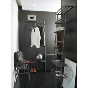 DUENDE/デュエンデ WALL RACK WHITE / GREY / ウォールラックラックタイプデザイナーズ家具壁に立てかけるタイプ送料無料インテリア洋服 靴 バッグ|bricbloc