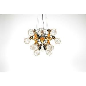 kyouei design 共栄デザイン reconstruction chandelier リコンストラクションラシャンデリア照明工業用クリップライト金メッキ送料無料デザイナーズ照明|bricbloc