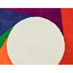 Max Bill/マックス ビル ラグ カラーホイール1800mm カーペット ラグ インテリア リビング アクリル糸 床暖房ホットカーペット対応 日本製 グラフィックアート|bricbloc|05