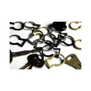 Keyhole ブラック キーリング MicroWorks|bricbloc